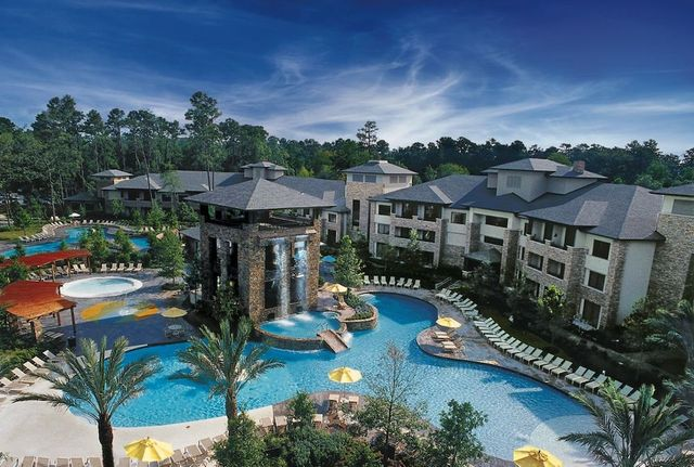 Texas golf resorts from moody gardens to woodlands for Texas spas and resorts