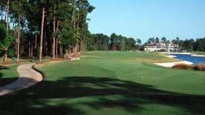 Jacksonville Golf and Country Club: 18th fairway