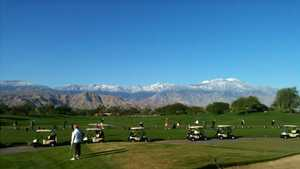 Desert Willow Golf Resort: Driving range