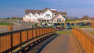 Broadlands GC: clubhouse