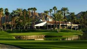 Desert Horizons CC: clubhouse & #17