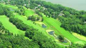 Chomonix GC: aerial view
