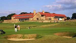 Craigielaw's clubhouse