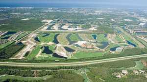 Talis Park GC: Aerial
