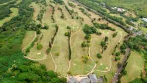 Pali GC: Aerial view