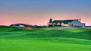 Links at Northfork: clubhouse