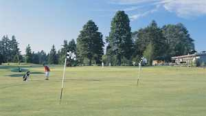 Meadow Park GC: practice area