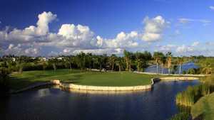 Provo Golf Club - hole 17 aerial view