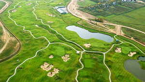 GC Zavidovo PGA National Russia: aerial view