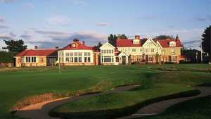 Muirfield - the clubhouse