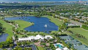 Audubon CC: Aerial view