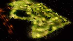 Indio GC: Aerial view