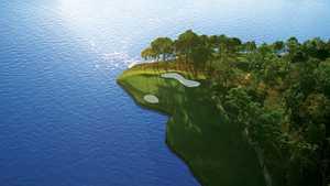 Bentwater YCC - Weiskopf: Aerial view