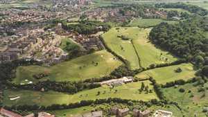 Blairbeth GC: Aerial view