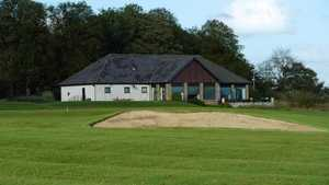 Langlands clubhouse and #18