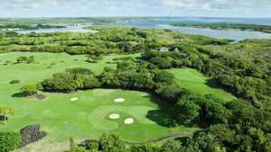 Belle Mare Plage GC - Links: Aerial view