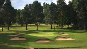 1st green at Haste Hill Golf Club