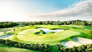 Double green at Playgolf London