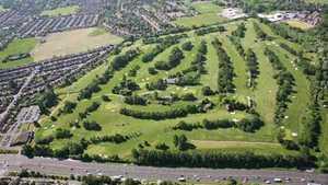 Swinton Park GC: Aerial view