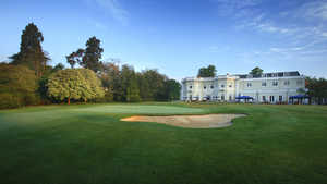 Burhill GC - New: #18 & clubhouse