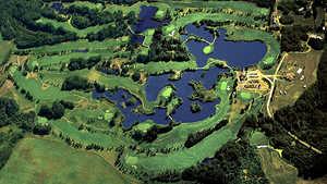 Goose Hummock GC: Aerial view