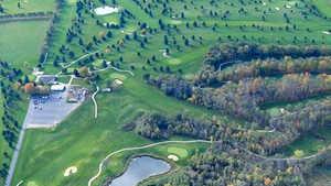 Winagamie GC: Aerial view