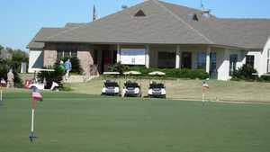 Beaver Creek GC: Clubhouse & practice area