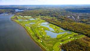 Trump National GC - Washington D.C. - Championship: Aerial view