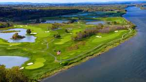 Trump National GC - Washington D.C. - River: Aerial view