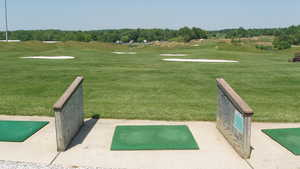 Willow Springs GC: Driving range