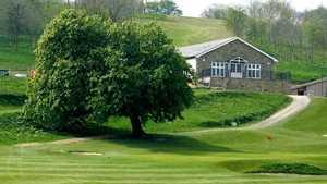 Kinsale club house & ninth green
