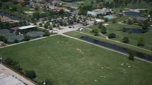 Chateau GCC: Aerial view