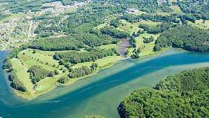 York Golf & Tennis Club: Aerial view