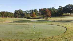 Sunset Hills GC: Practice area