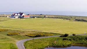 The Royal Dublin: golf practice