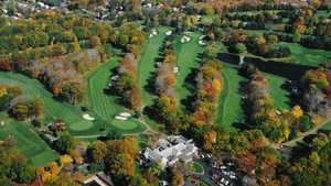 Hackensack GC: Aerial view