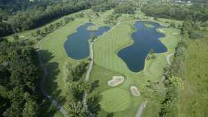 Sycamore Hills GC: Aerial view