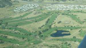 Cheyenne Shadows GC: Aerial view