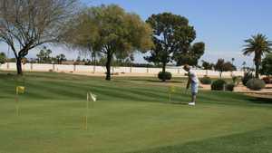 Quail Run GC: Practice area