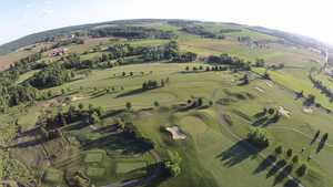 Honeybrook GC: Aerial view