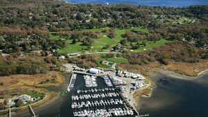 Harbor Lights GCC: Aerial view