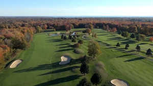 Stonington CC: Aerial view