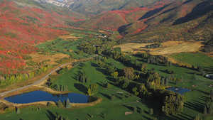 Wasatch Mountain State Park: Aerial view