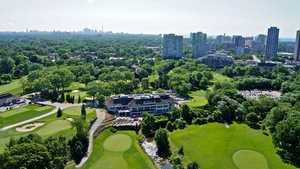 Centennial Park Golf Centre: Aerial view