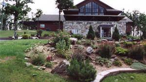 Club de Golf International 2000: Clubhouse