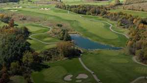 University Ridge GC: Aerial view