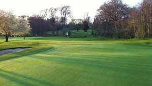 Gogarburn GC: immaculate greens