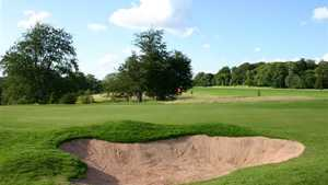 Stoke Rochford GC: large bunker