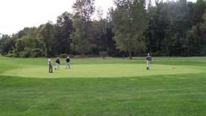 Maple Ridge GC: golfers on a green