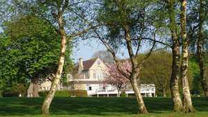 Leeds GC's clubhouse